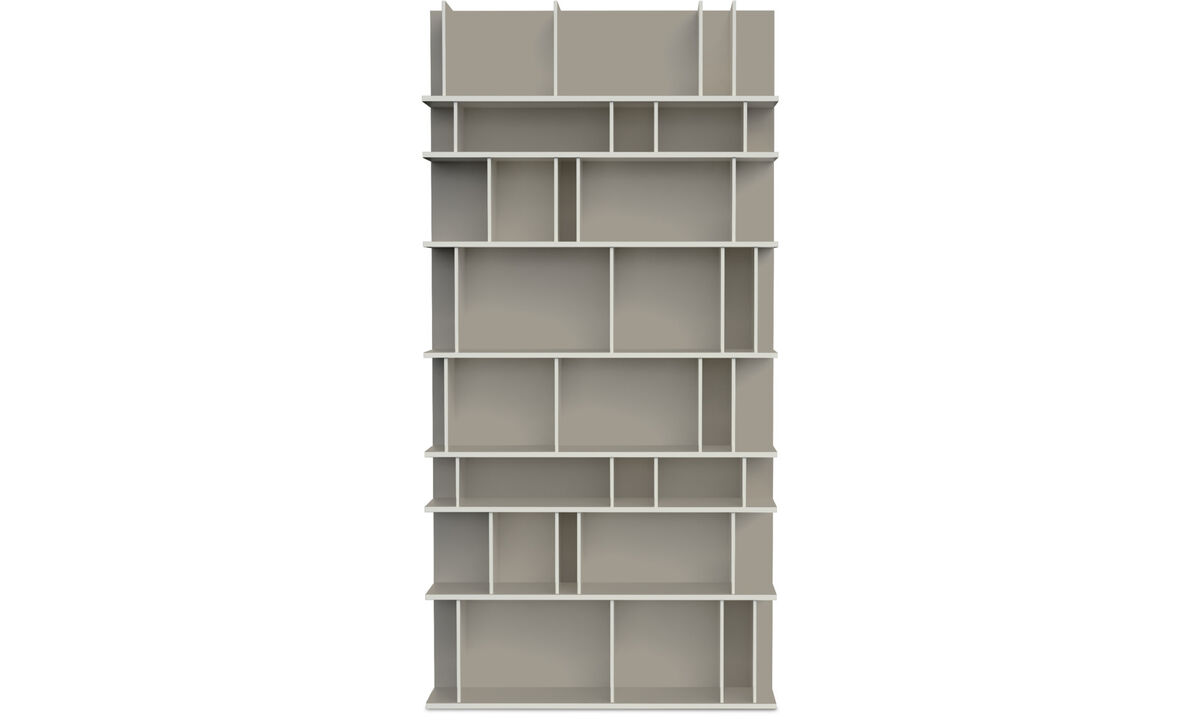 Bookcases & shelves - Como wall system - Grey - Lacquered