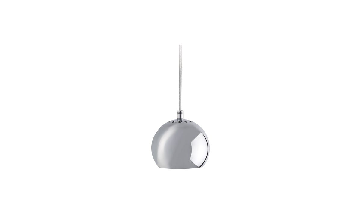Pendants - Ball pendant - Grey - Metal