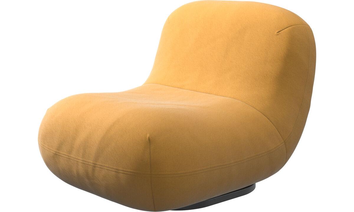 Armchairs - Chelsea chair - Yellow - Fabric