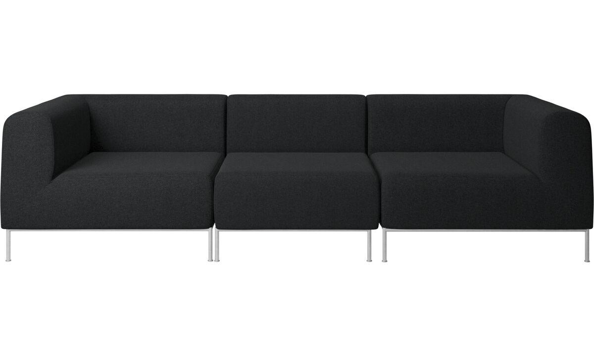 Modulære sofaer - Miami sofa - Grå - Stof