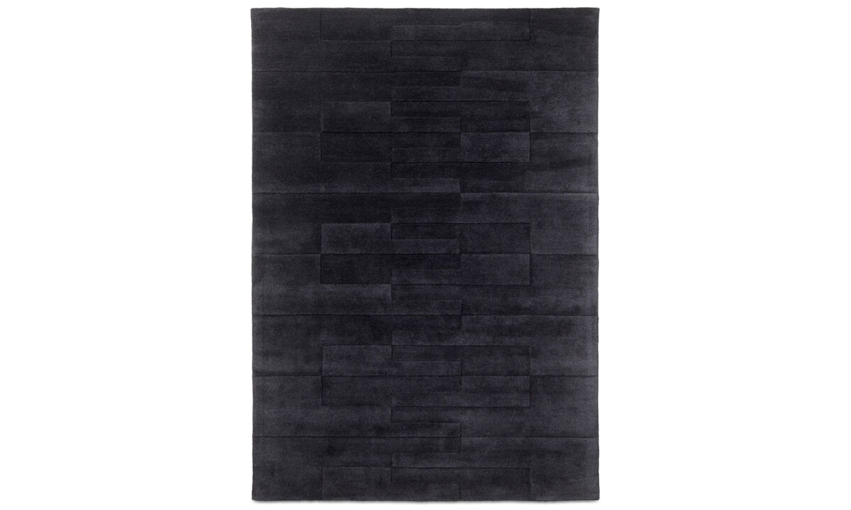 Rectangular rugs - Cosenza rug - rectangular - Blue - Wool