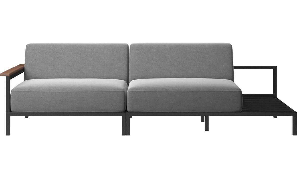 Outdoor sofas - Rome outdoor sofa - Grey - Fabric