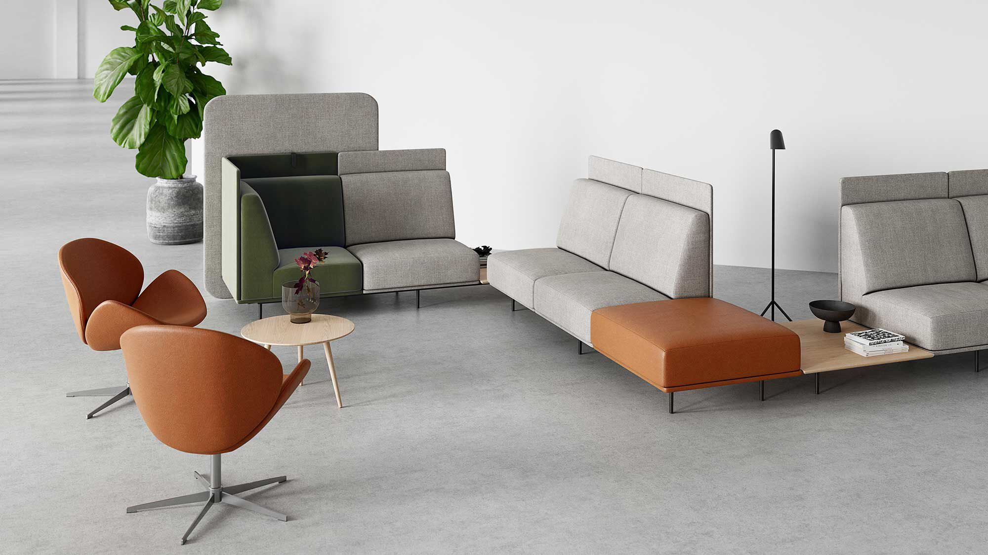 Designs by Henrik Pedersen - Toulouse sofa