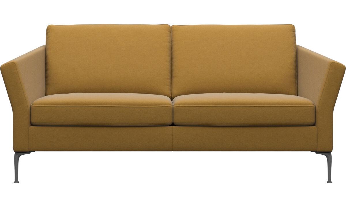 2.5 seater sofas - Marseille sofa - Yellow - Fabric