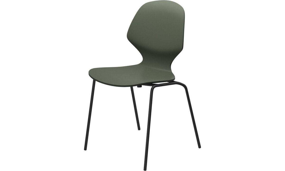 Esszimmerstühle - Florence Stuhl - Grün - Lack