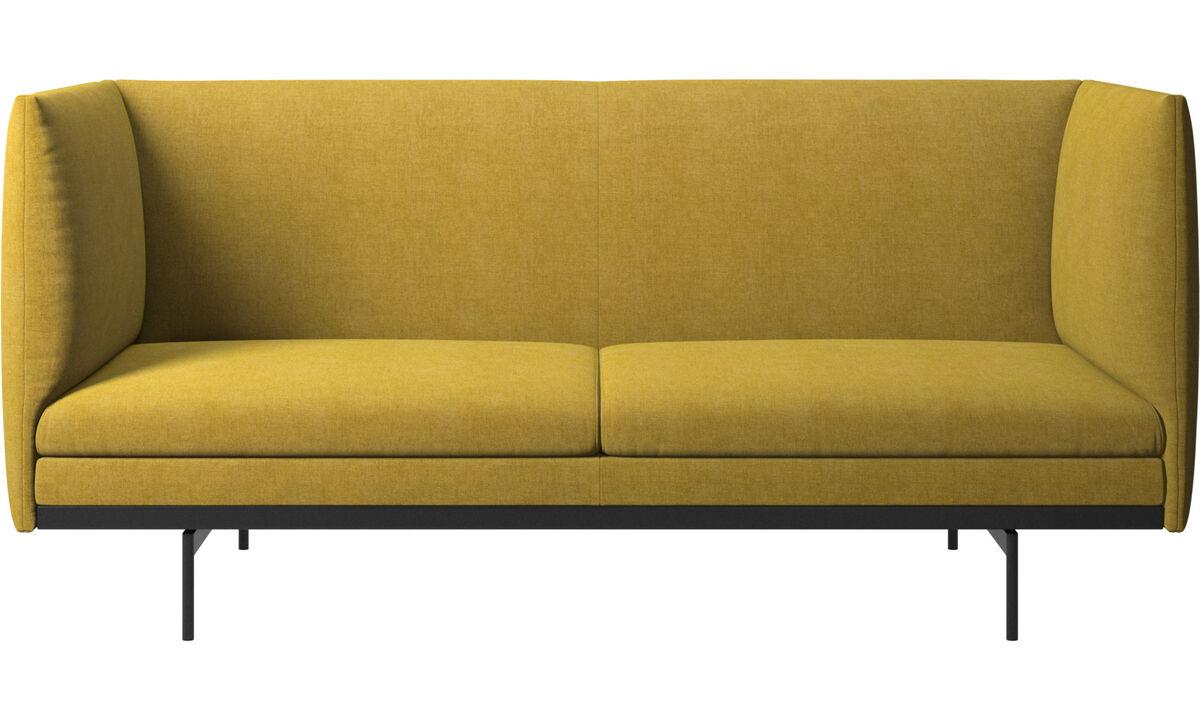 2 seater sofas - Nantes sofa - Yellow - Fabric