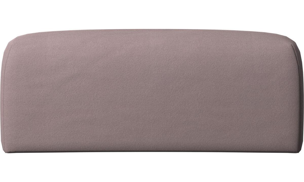 Furniture accessories - schienale Atlanta - Viola - Tessuto