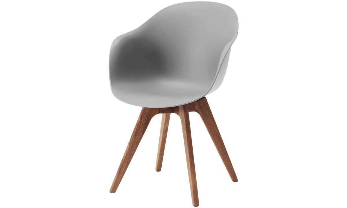 Design furniture in time for Christmas - Adelaide chair (for in and outdoor use) - Grey - Plastic