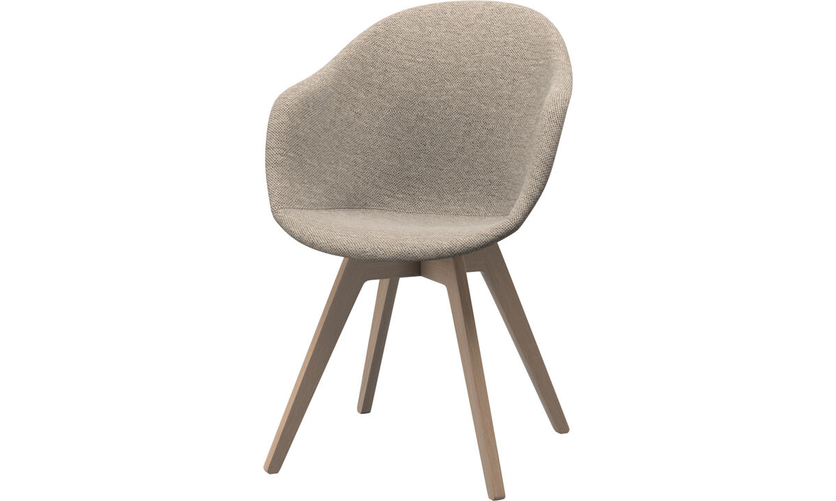 Dining chairs - Adelaide chair - Beige - Fabric