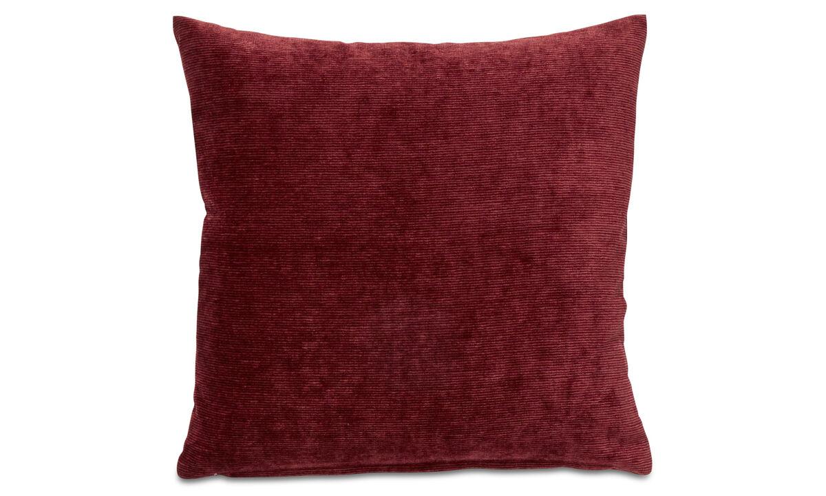 Cushions - Velvet rough cushion - Orange - Fabric