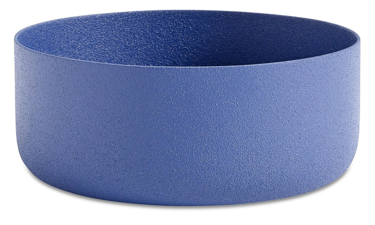 Bowls & dishes - North bowl - Blue - Metal