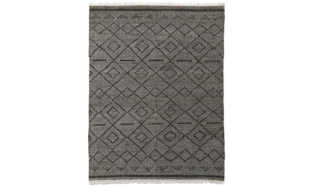 Rectangular rugs - Fes Rug - rectangular - Brown - Fabric