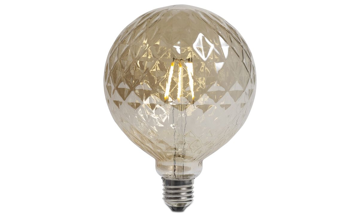 Light bulbs - Facet globe for Lotus Pendant