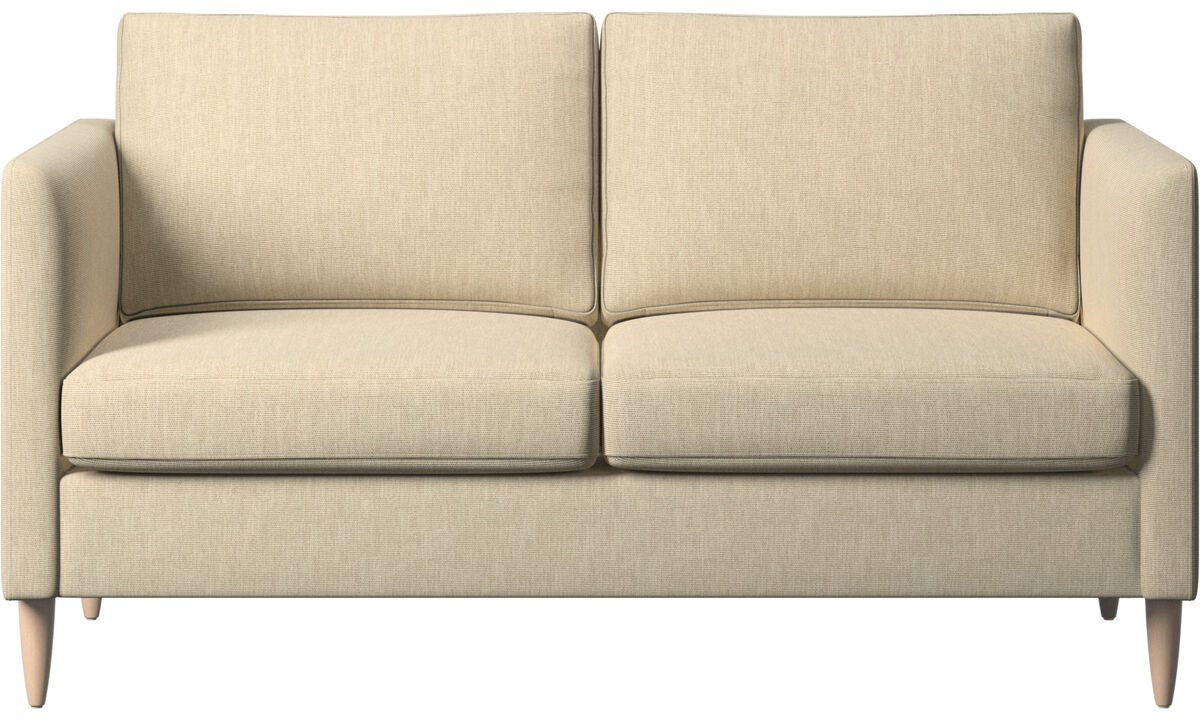 2 seater sofas - Indivi sofa - Brown - Fabric