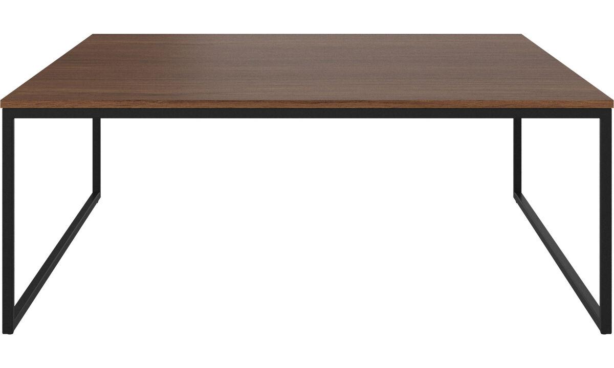 Mesas de centro - Mesa de centro Lugo - rectangular - En marrón - Nogal