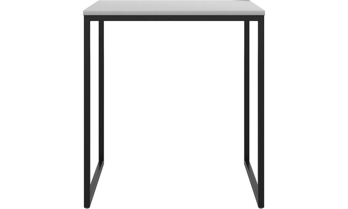 Mesas de centro - mesa de centro Lugo - cuadrada (if female noun) // cuadrado (if male noun) - Blanco - Laca