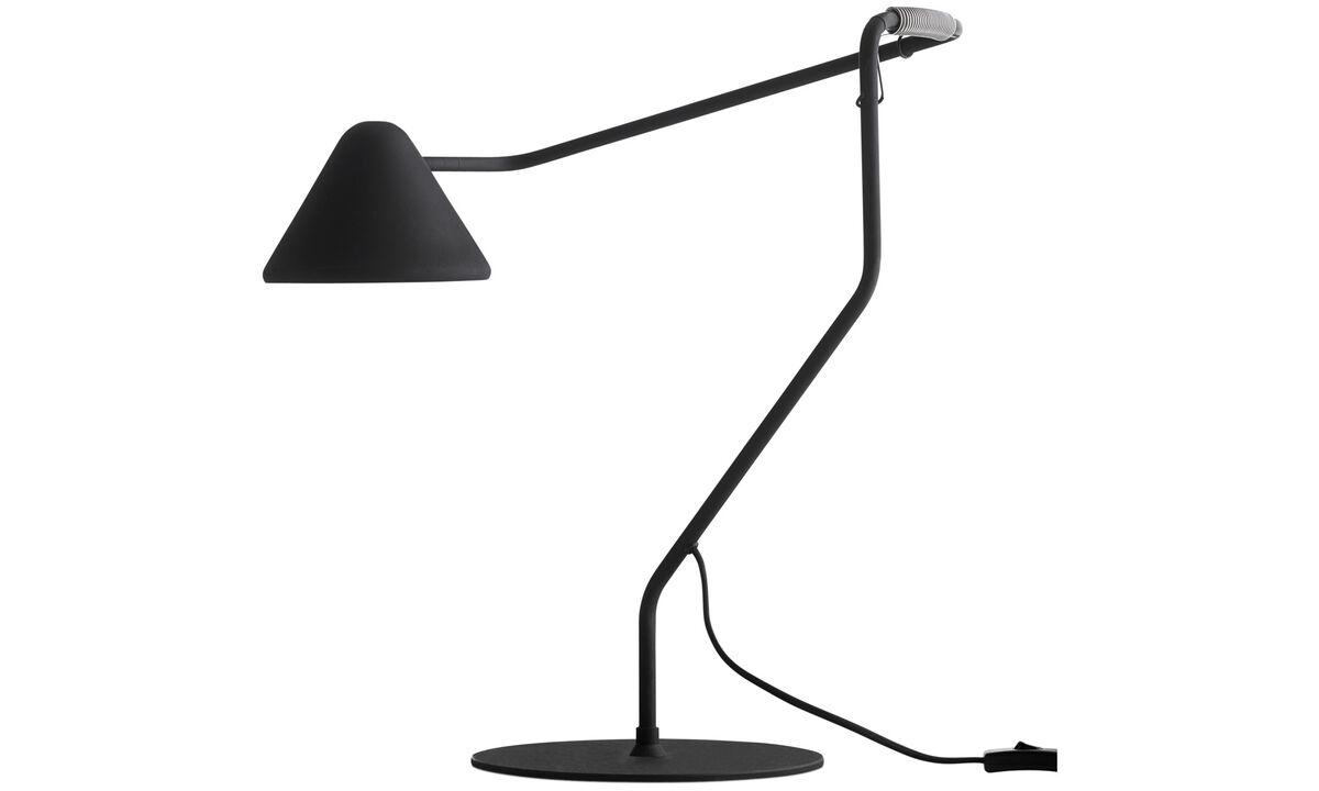 Table lamps - Spring table lamp - Black - Metal