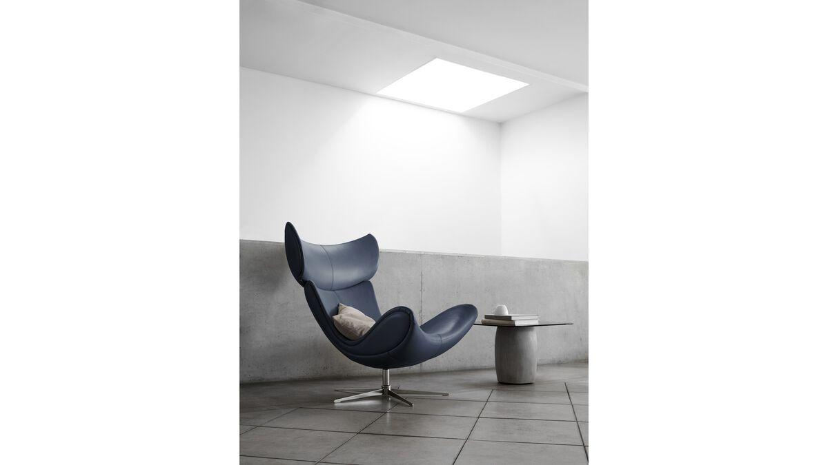 sessel und fu hocker imola sessel boconcept. Black Bedroom Furniture Sets. Home Design Ideas