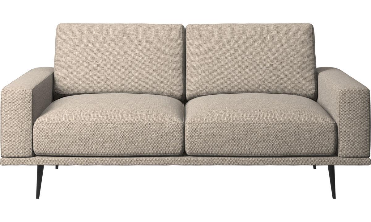Двухместные диваны - Диван Carlton - Бежевого цвета - Tкань