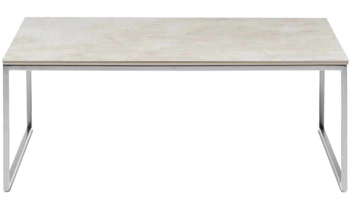 Mesas de centro - Mesa de centro Lugo - rectangular - En gris - Cerámica