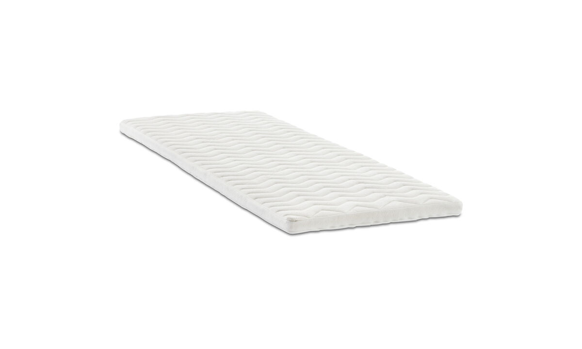 Mattresses - Comfort top mattress for Xtra footstool - White - Fabric