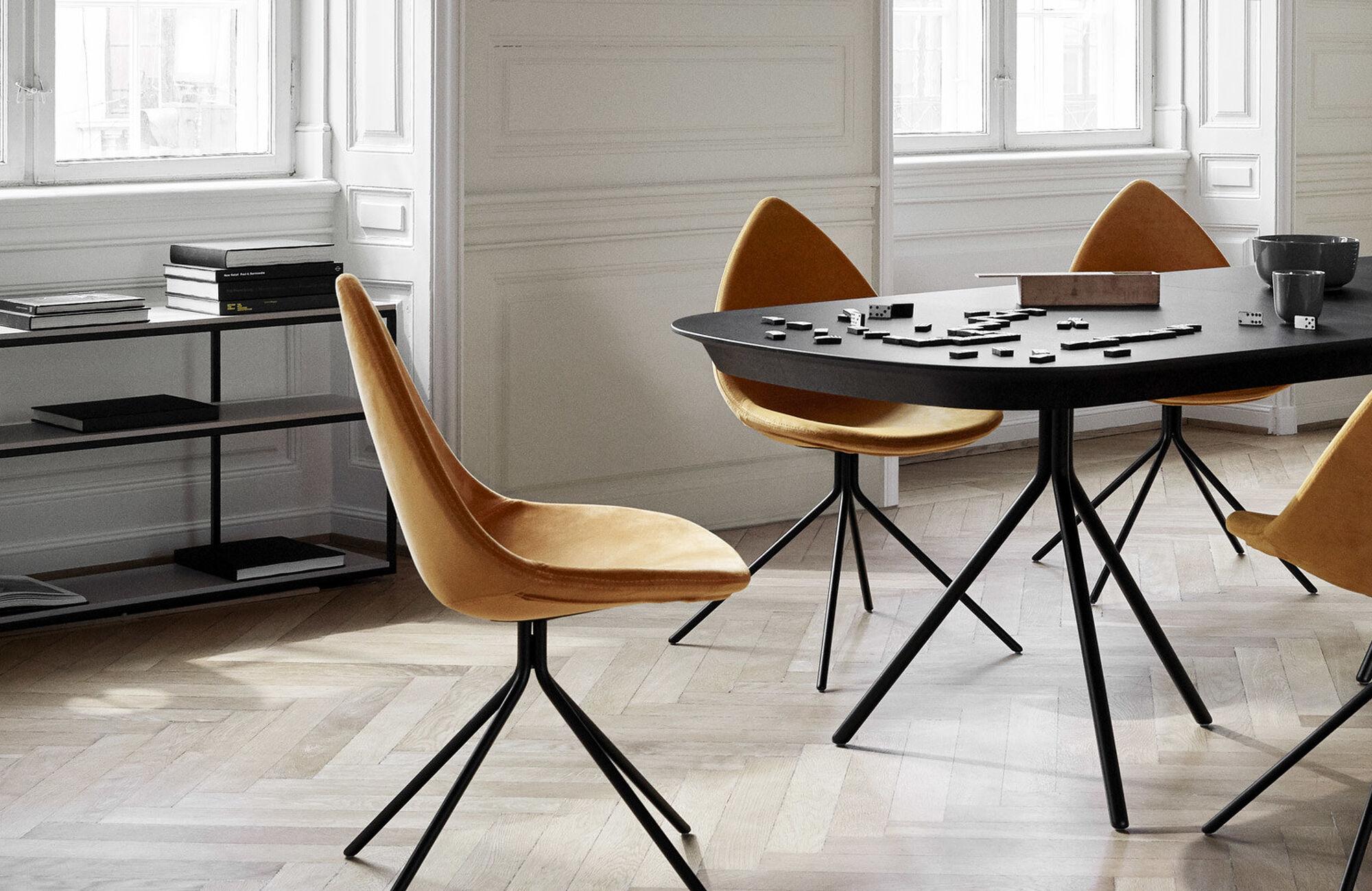 Mesas de comedor - mesa extensible con tablero suplementario Ottawa