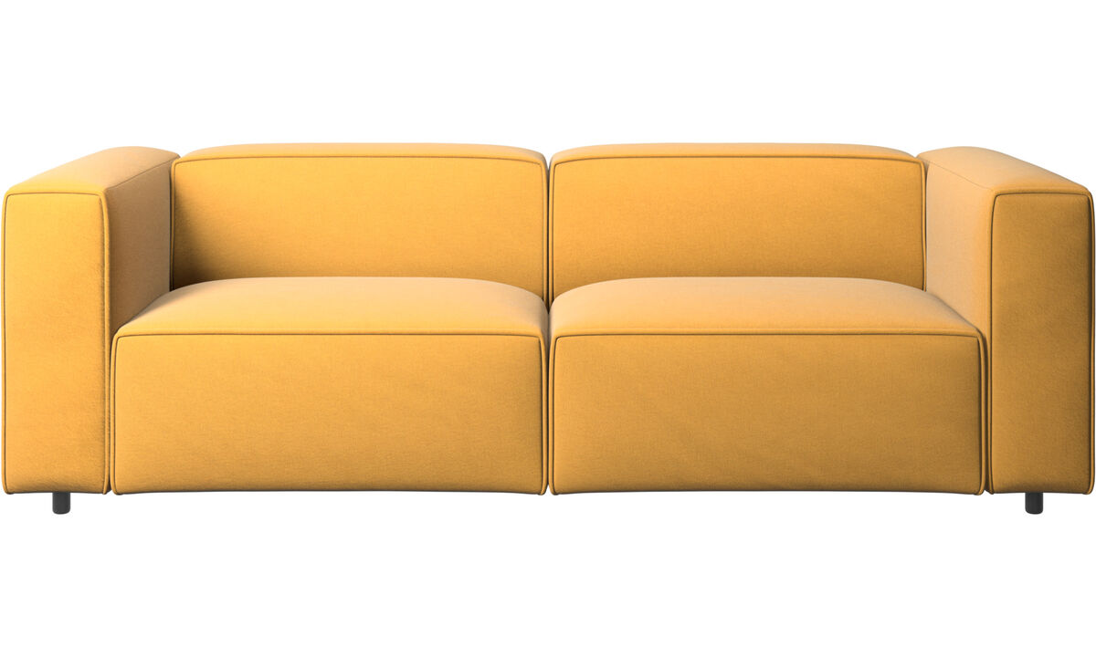 Recliner sofas - Carmo motion sofa - Yellow - Fabric