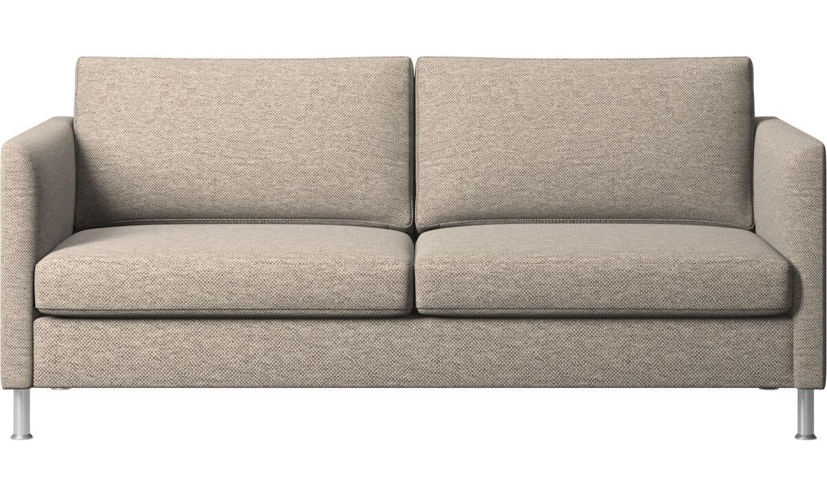2.5 seater sofas - Indivi sofa - Beige - Fabric