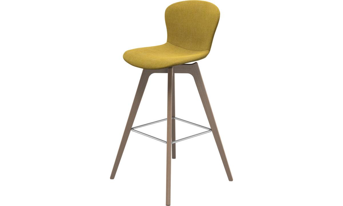 Bar stools - Adelaide barstool - Yellow - Fabric