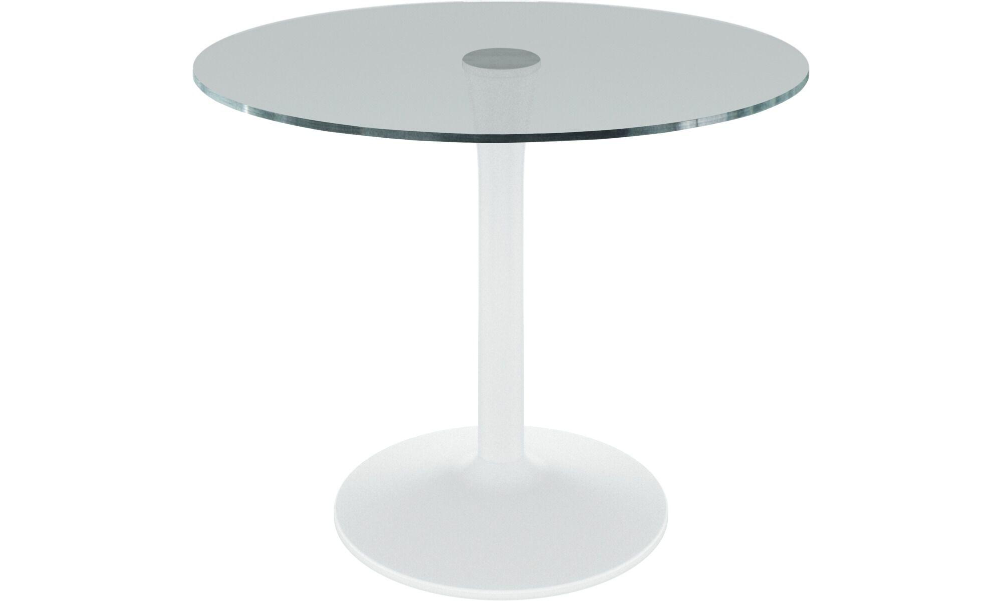 Esstische   New York Tisch   Rund   Klar   Glas