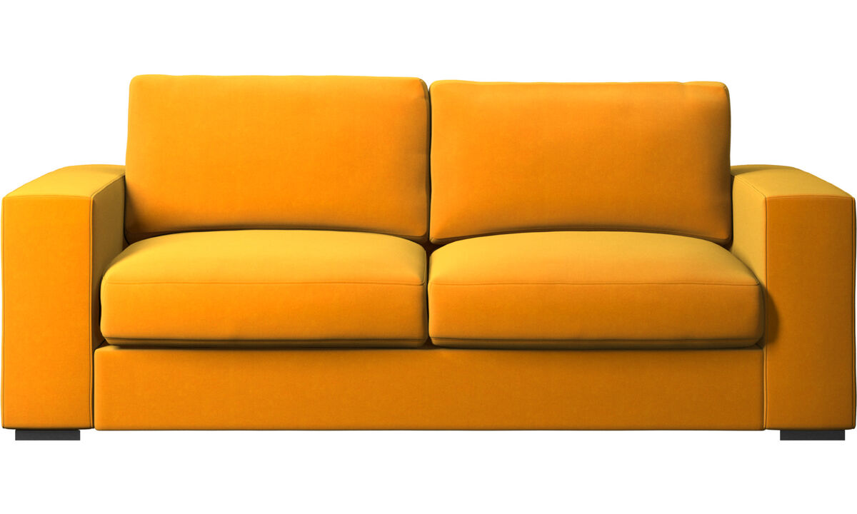 2.5 seater sofas - Cenova sofa - Orange - Fabric