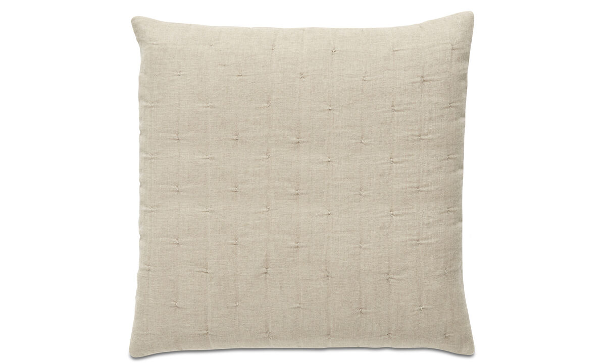 Linen cushions - REMS cushion - Beige - Fabric