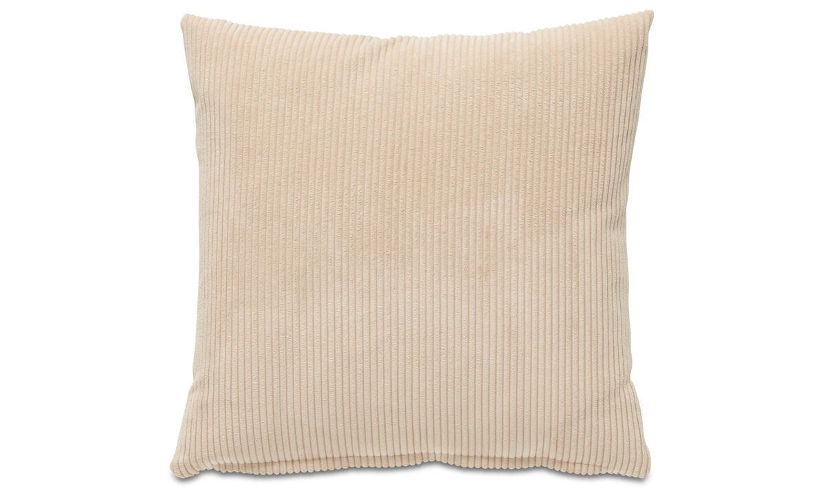 Patterned cushions - Cord cushion - Beige - Fabric