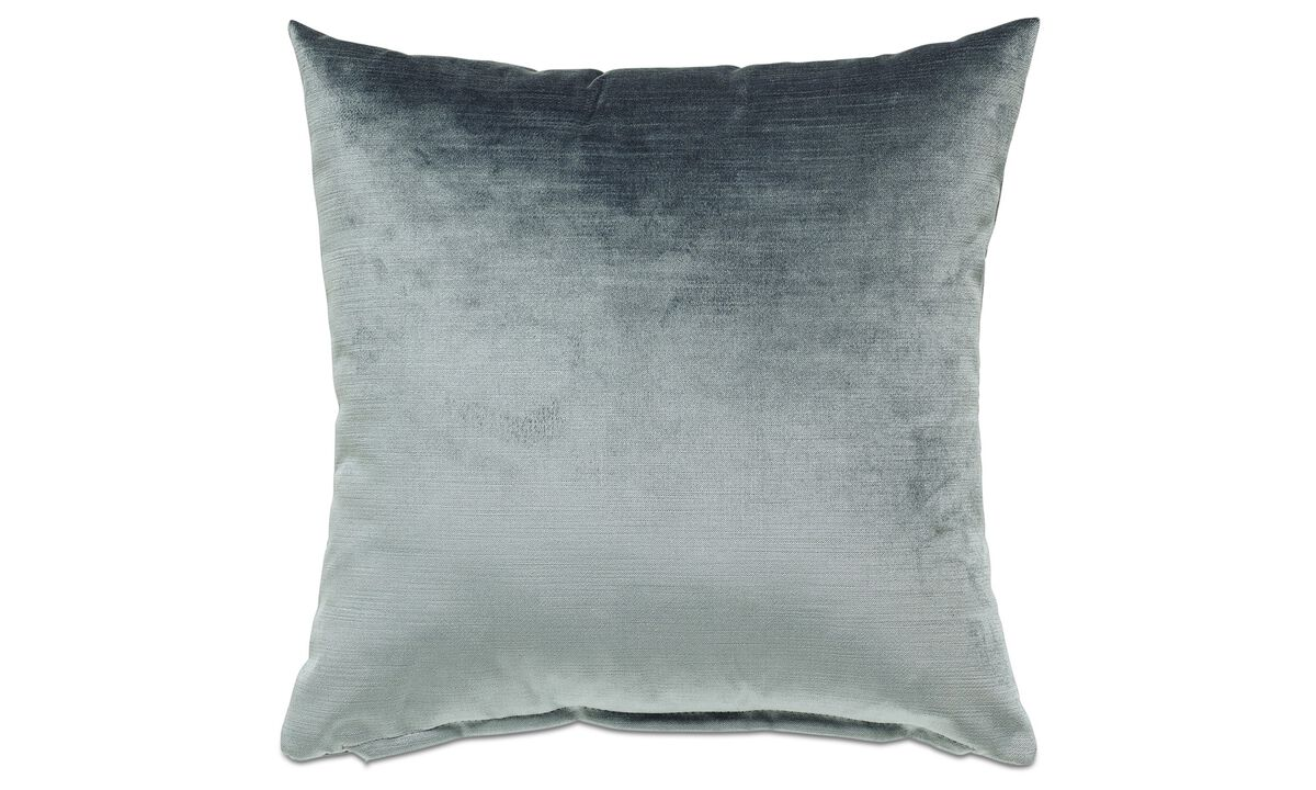 Velvet cushions - Velvet cushion - Green - Fabric