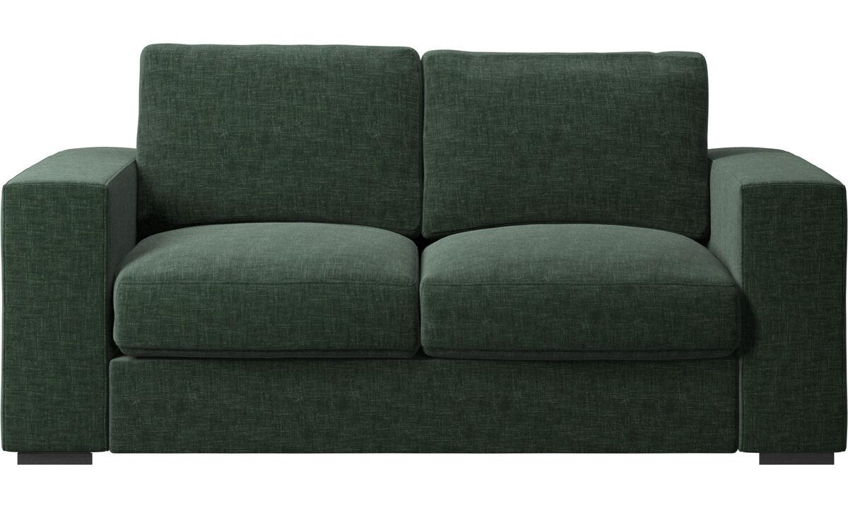 2-istuttavat sohvat - Cenova-sohva - Vihreä - Kangas