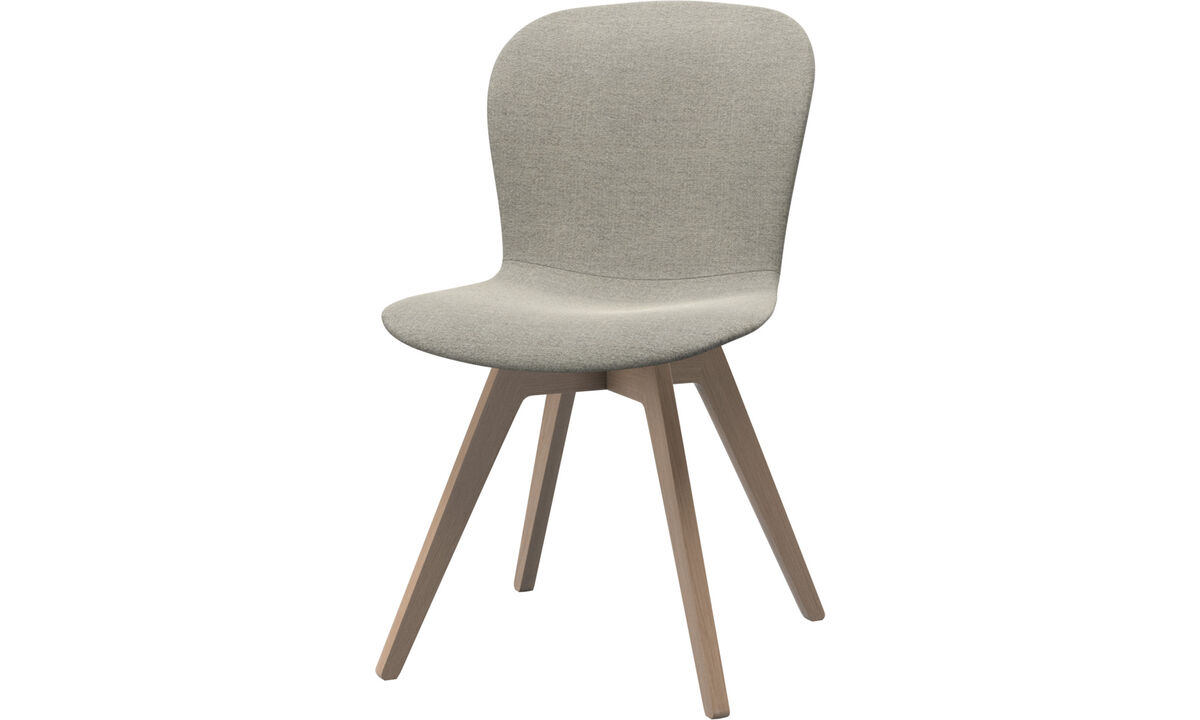 Sillas de comedor - silla Adelaide - En beige - Tela