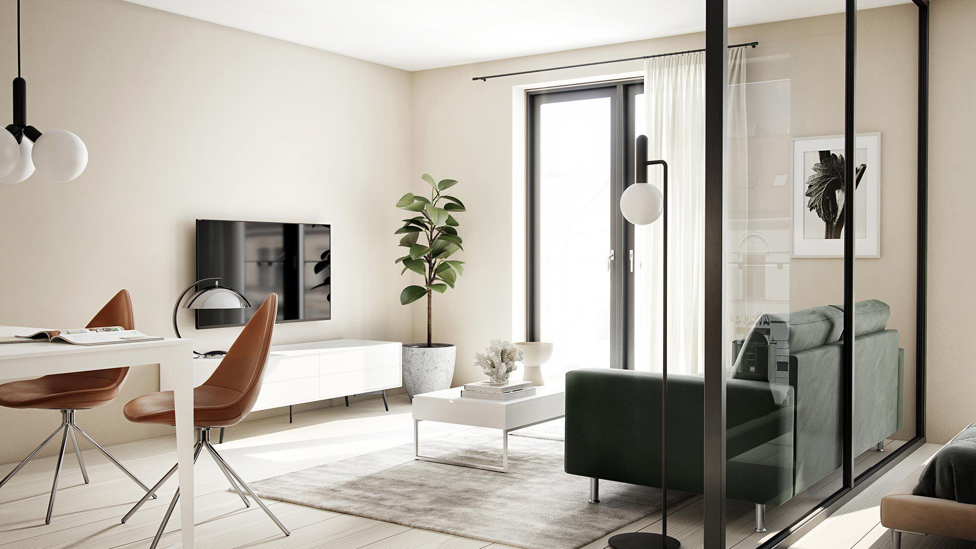 Мебель для мультимедиа - mодуль для мультимедиа Fermo с откидными дверцами