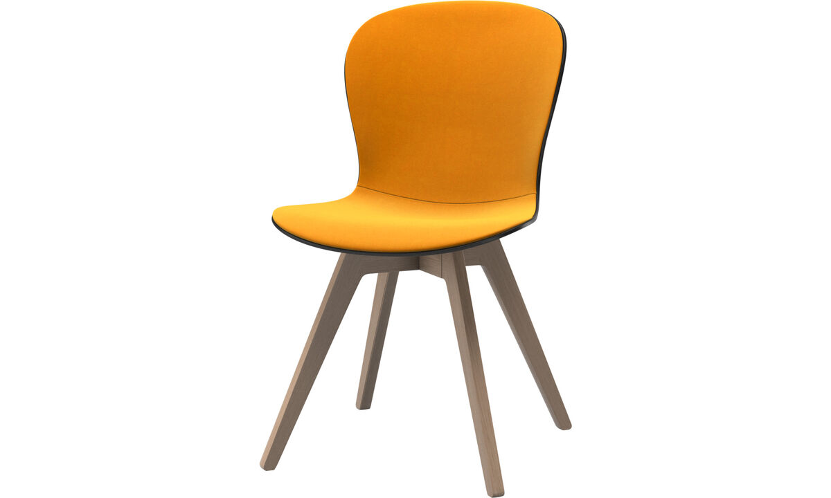 Dining chairs - Adelaide chair - Orange - Fabric