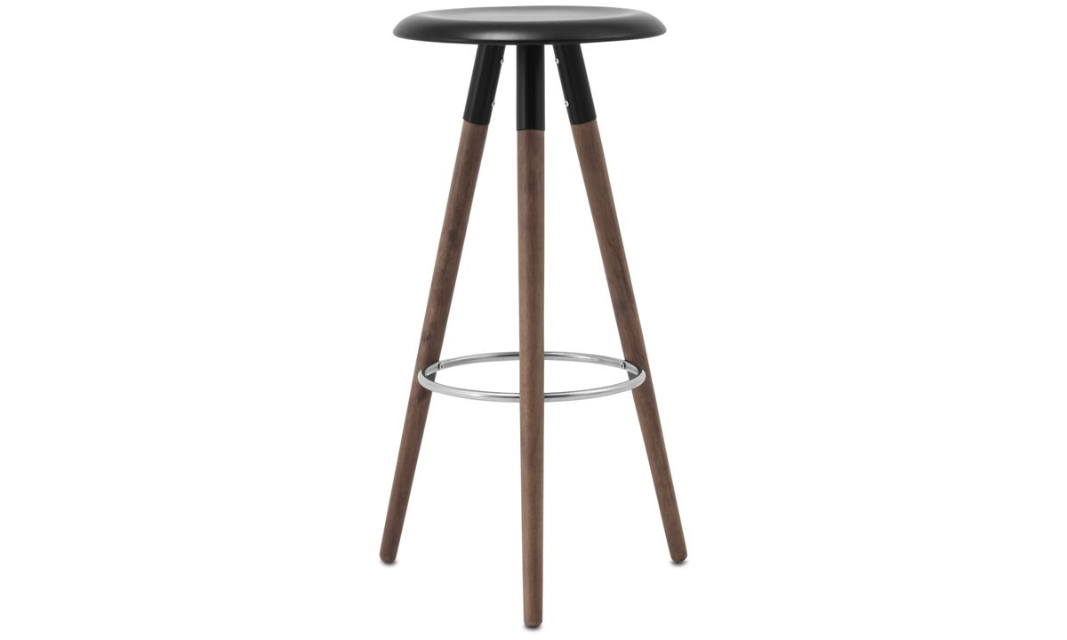 New designs - Vig barstool - Black - Lacquered