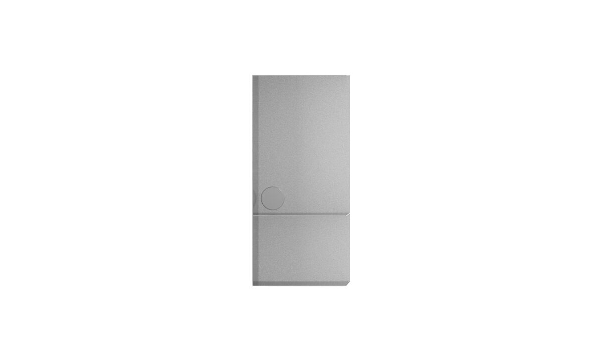 Bookcases & shelves - Como bookcase - Gray - Metal