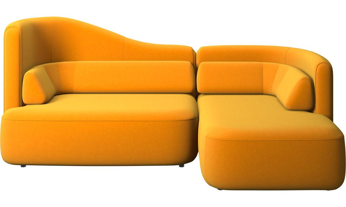 Modulárne sedačky - Sedačka Ottawa - Pomarančová - Látka