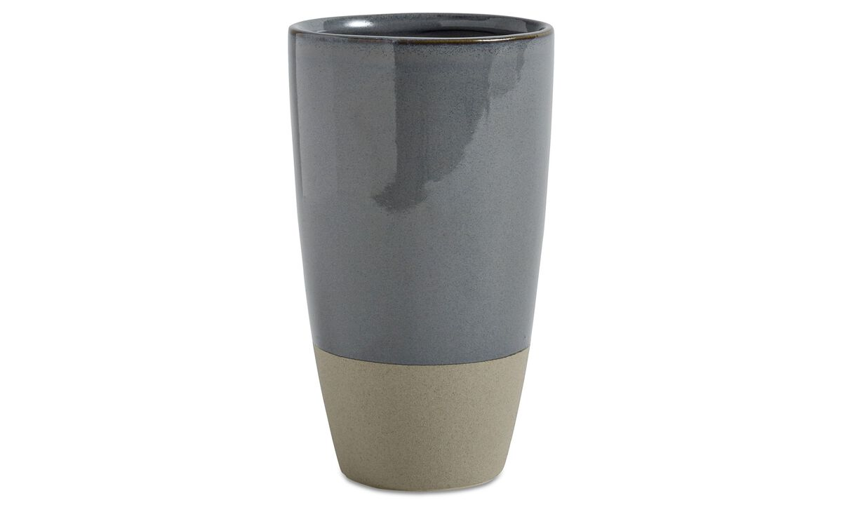 New designs - Vega vase - Grey - Ceramic