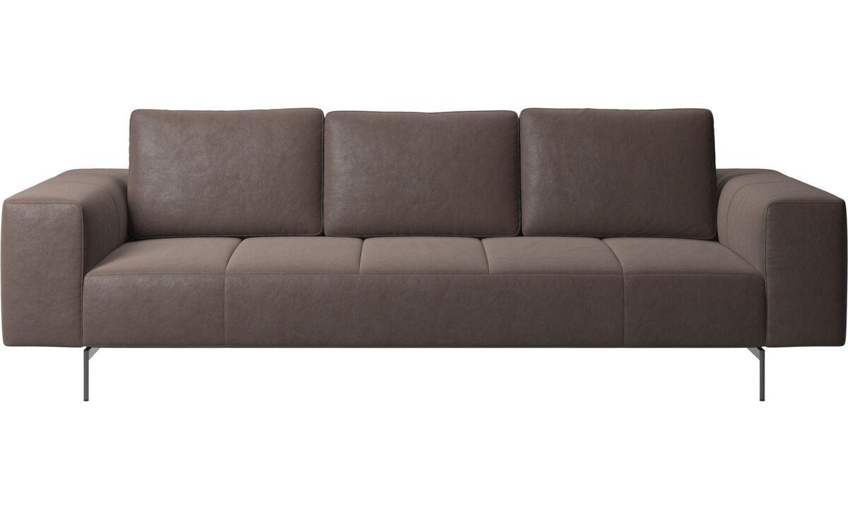 Modular sofas - Amsterdam sofa - Brown - Leather