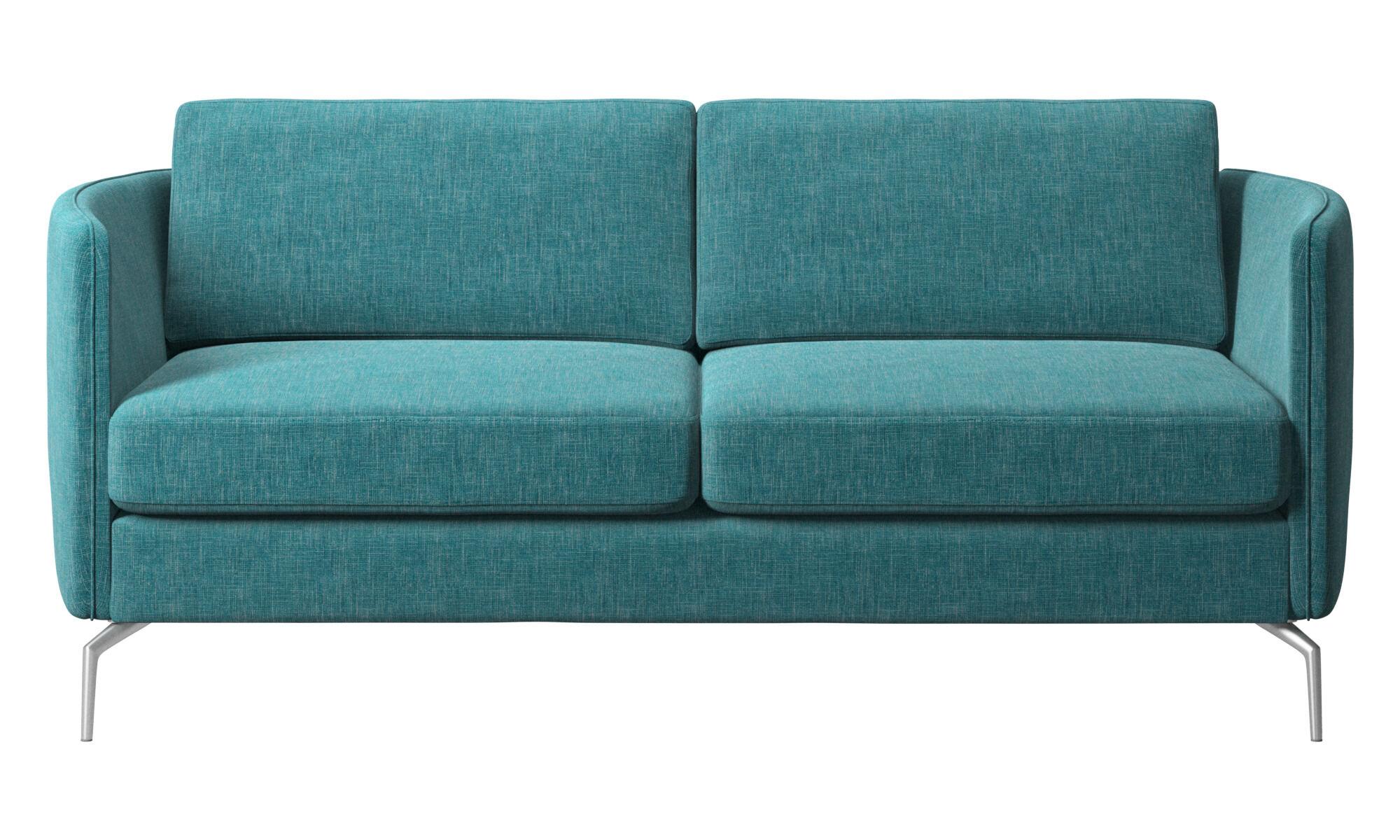 nuevos diseos sof osaka asiento regular en azul tela