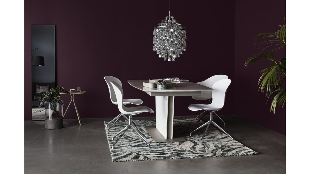 Milano  Milano  MilanoDining tables   Milano table with supplementary tabletop   BoConcept. Milano Dining Table Boconcept. Home Design Ideas