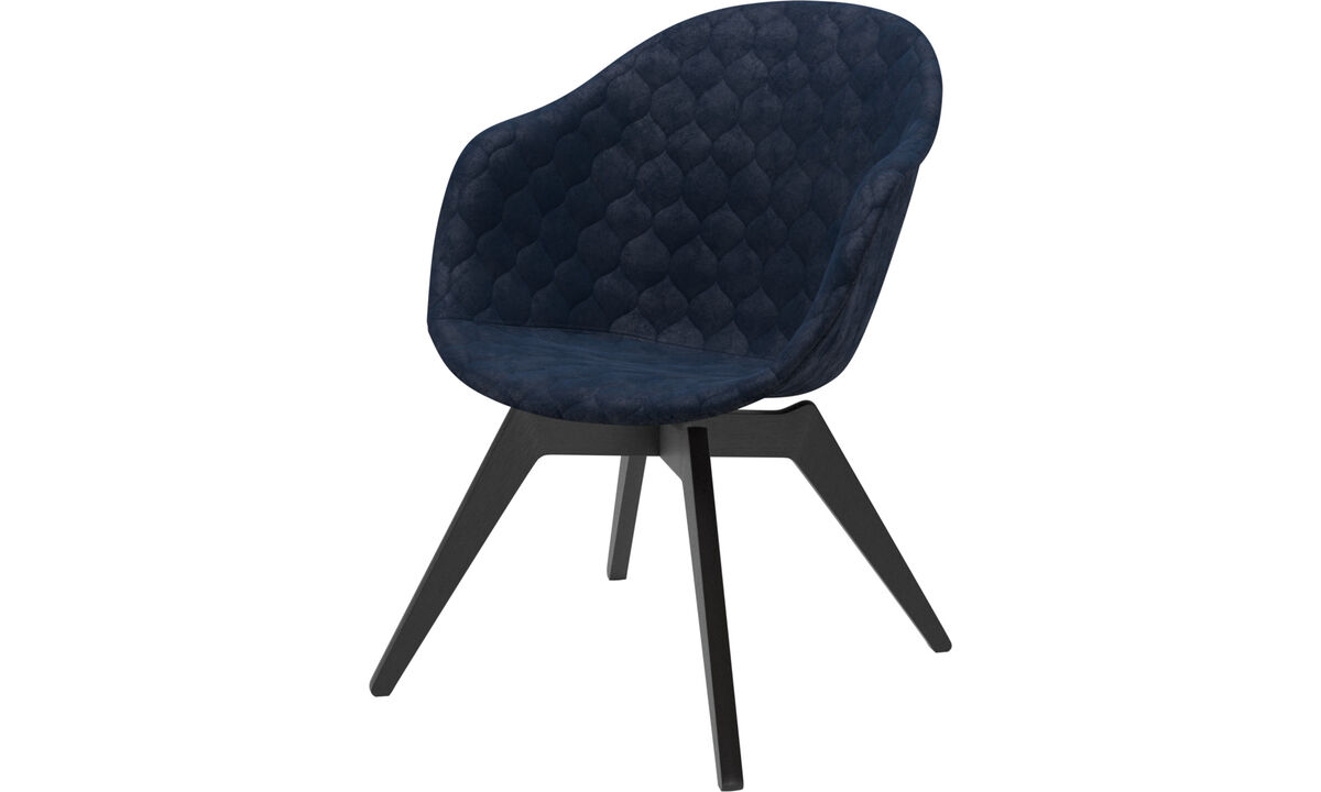 Armchairs - Adelaide lounge chair - Blue - Fabric