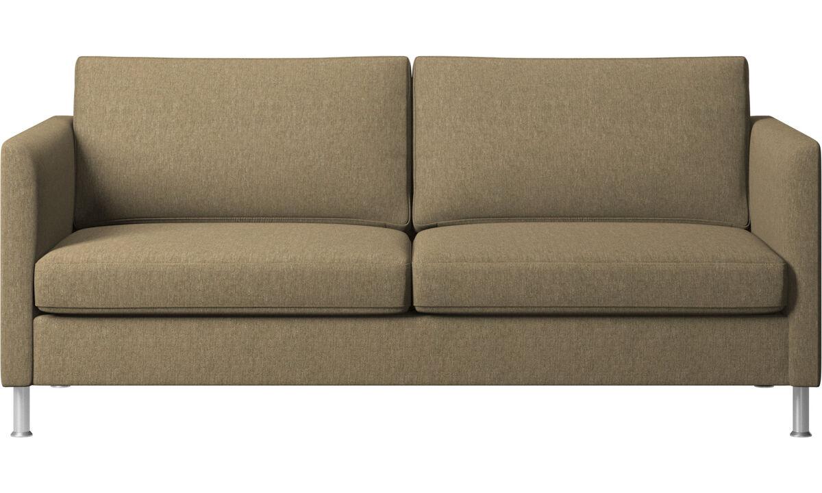 2.5 seater sofas - Indivi sofa - Green - Fabric