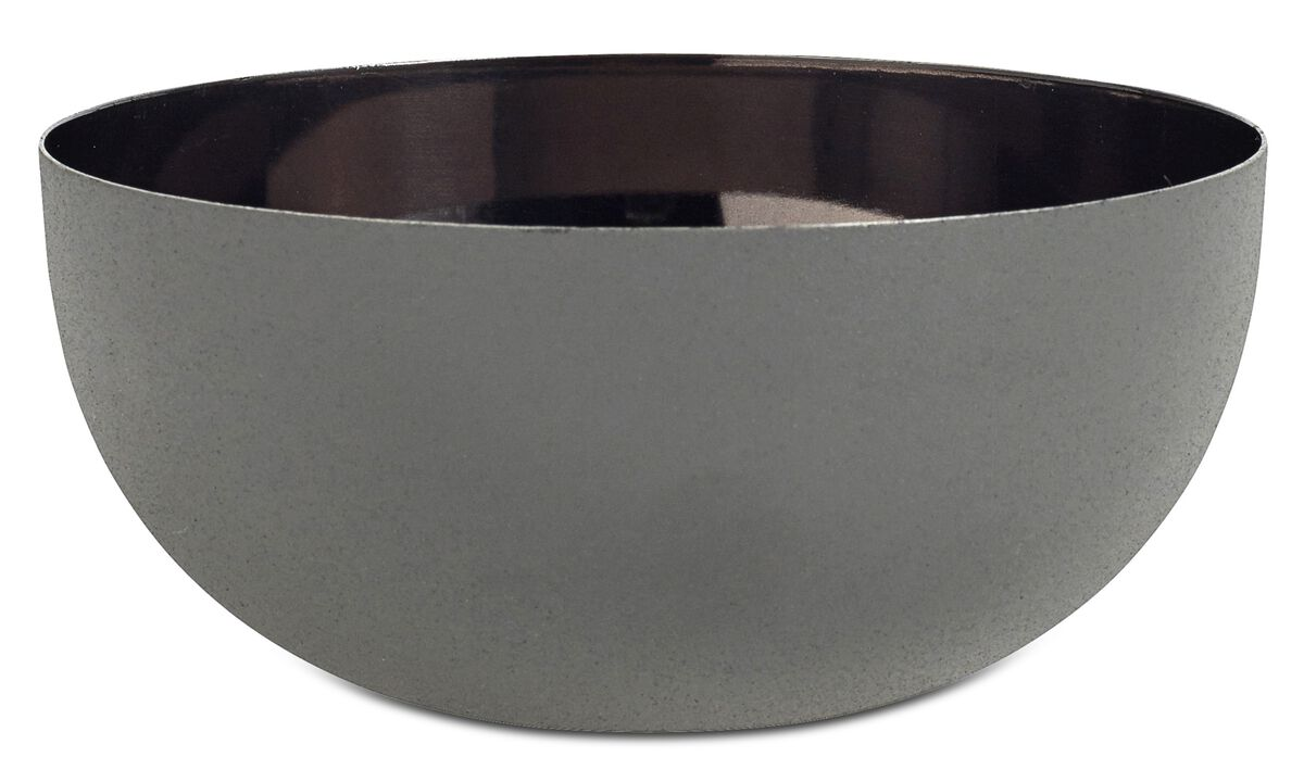 New designs - Shimmer bowl - Grey - Metal