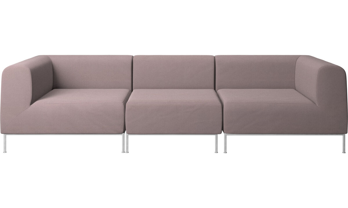 Modular sofas - Miami sofa - Purple - Fabric