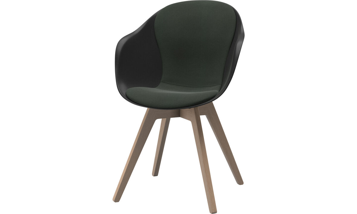 Dining Chairs Singapore - Adelaide chair - Green - Fabric